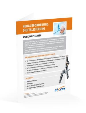 """Teilnahme am Workshop """"Herausforderung Digitalisierung"""""""